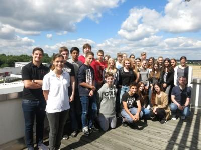 Heute bekamen wir Besuch von der Verbundsschule aus Ubstadt.