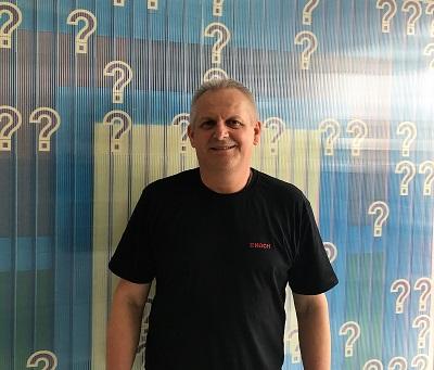 Bernhard Knaus ist neu im Fabrikle