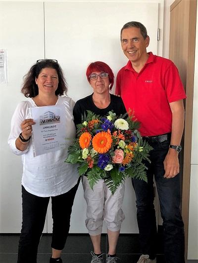 Angelika Fox arbeitet seit 20 Jahren im Fabrikle