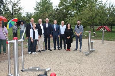 Eröffnung Mehrgenerationenpark Ubstadt September 2018