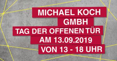 Einladung zum Tag der offenen Tür am 13.09.2019, von 13 - 18 Uhr