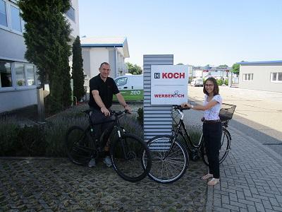 E-Bikes für die Mitarbeiter