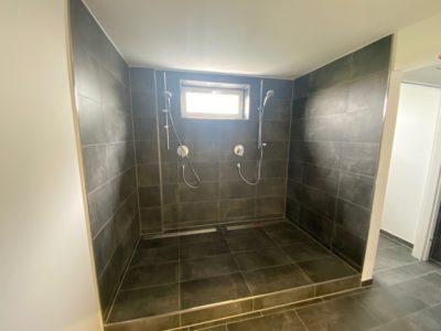 Dusche im Technikum